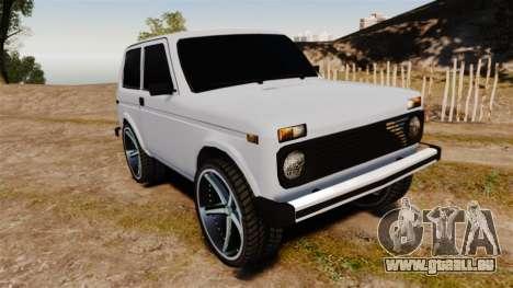 Vaz-21213 Niva LT pour GTA 4
