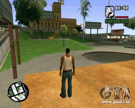 Neue HD-Skate-Park für GTA San Andreas neunten Screenshot