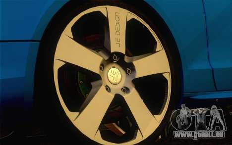 Audi S5 für GTA San Andreas Rückansicht