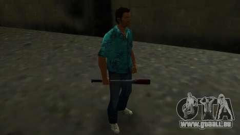Batte de Baseball taché de sang pour GTA Vice City