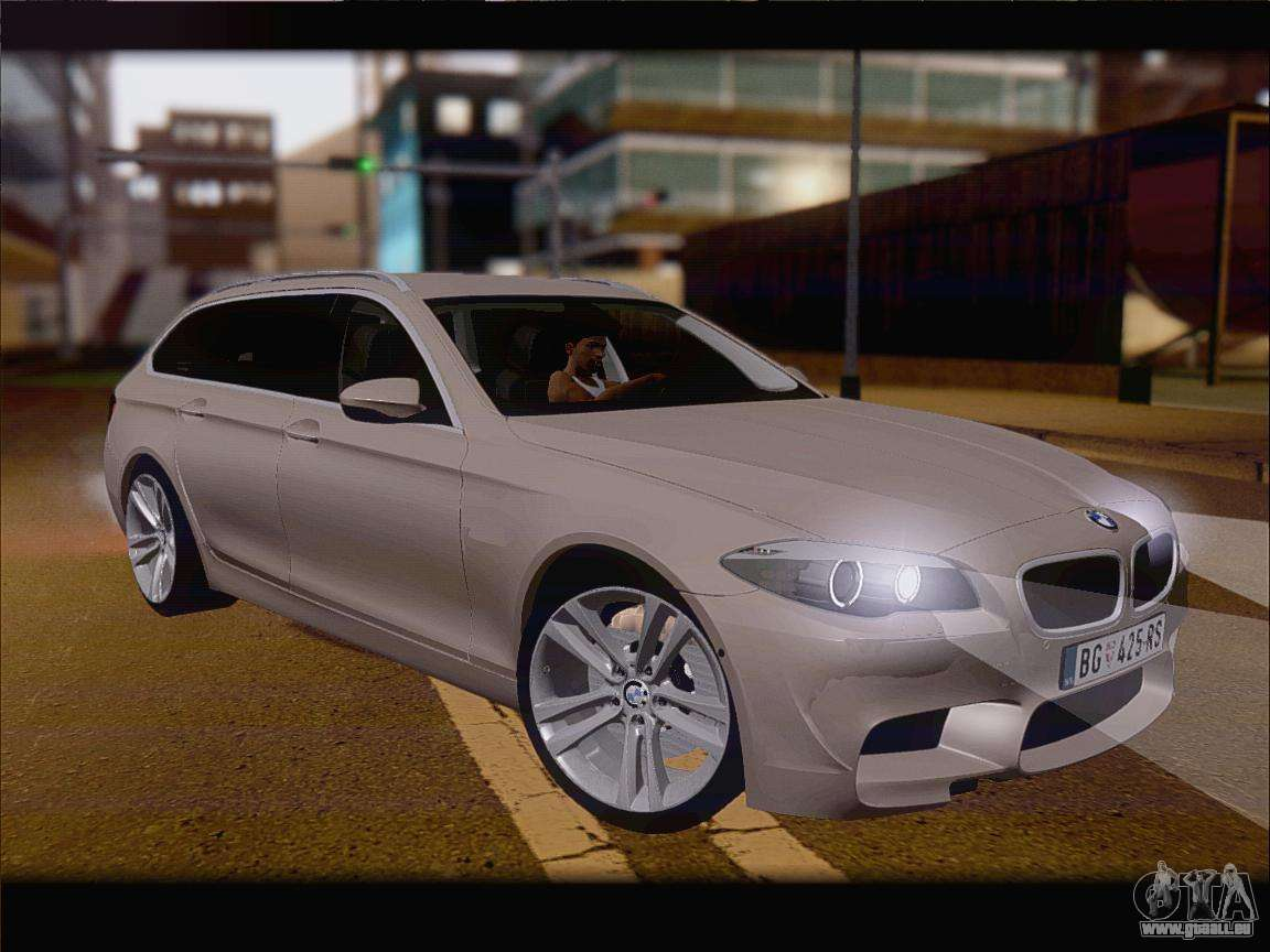 bmw m5 f11 touring f r gta san andreas. Black Bedroom Furniture Sets. Home Design Ideas