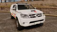 Toyota Hilux French Red Cross [ELS] für GTA 4