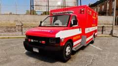 Brute Woonsocket Fire Medic Unit [ELS] für GTA 4