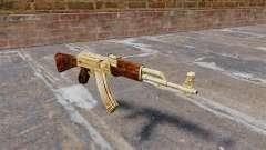 Plaqué or de AK-47