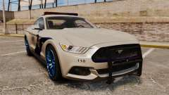 Ford Mustang GT 2015 Cheng Guan Police