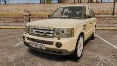 Range Rover Sport Unmarked Police [ELS]