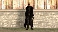 Albert Wesker dans le manteau