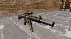Pistolet mitrailleur HK MP5SD2
