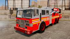 MTL Firetruck Tower Ladder [ELS-EPM] pour GTA 4