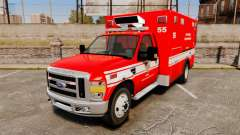 Ford E-350 LAFD Ambulance [ELS]