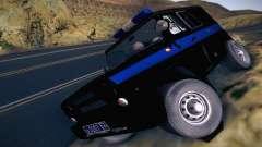 UAZ Hunter Police