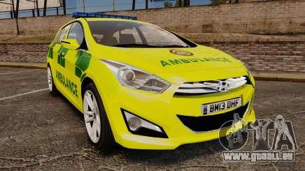 Hyundai i40 Tourer [ELS] London Ambulance pour GTA 4