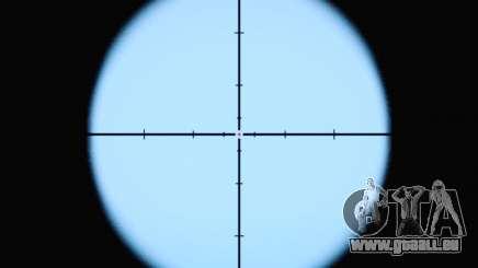 Le nouveau viseur de fusil pour GTA San Andreas