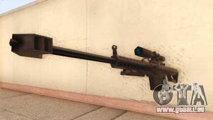 Barrett de Call of Duty MW2 pour GTA San Andreas