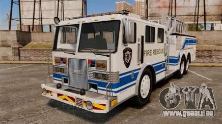MTL Firetruck MDH1000 Midmount Ladder [ELS] pour GTA 4