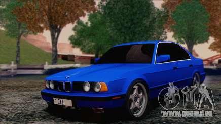 BMW 535i E34 Mafia Style pour GTA San Andreas