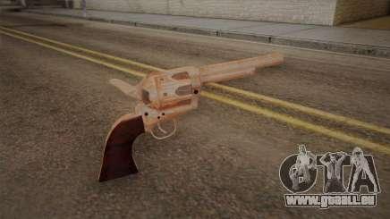 Colt Peacemaker (Chrom) für GTA San Andreas