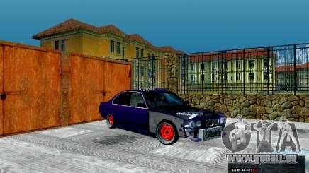 BMW 525i e34 Hobo pour GTA San Andreas