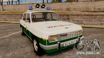 Wartburg 353 W Deluxe Polizei pour GTA 4