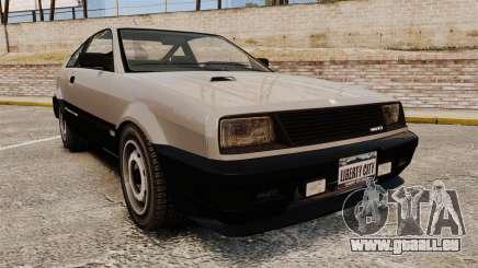 Blista CRX pour GTA 4