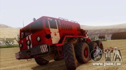 MAZ-535 Feuerwehrmann für GTA San Andreas