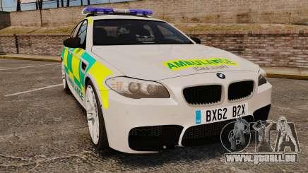 BMW M5 Ambulance [ELS] für GTA 4