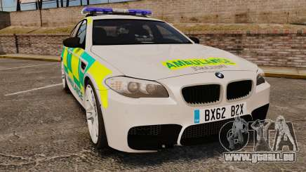 BMW M5 Ambulance [ELS] pour GTA 4