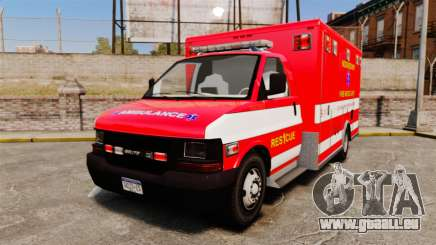 Brute Woonsocket Fire Medic Unit [ELS] für GTA 4