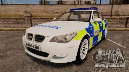 BMW M5 E60 City Of London Police [ELS] pour GTA 4