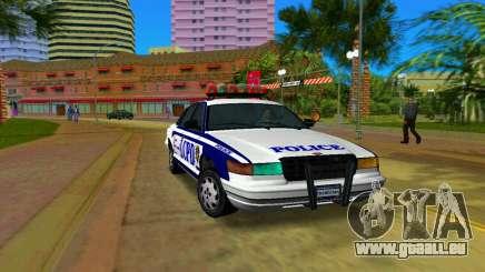 GTA IV Police Cruiser für GTA Vice City