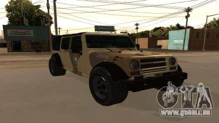 Crusader GTA 5 pour GTA San Andreas