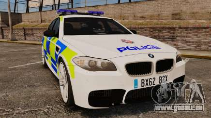 BMW M5 Greater Manchester Police [ELS] pour GTA 4