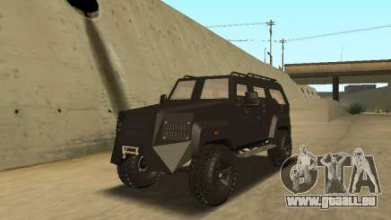 Ford Super Duty Armored pour GTA San Andreas