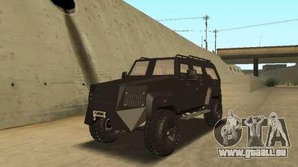Ford Super Duty Armored für GTA San Andreas