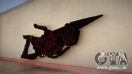 Lance-flammes de Bulletstorm pour GTA San Andreas