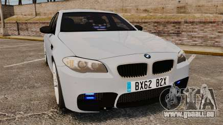 BMW M5 Unmarked Police [ELS] pour GTA 4