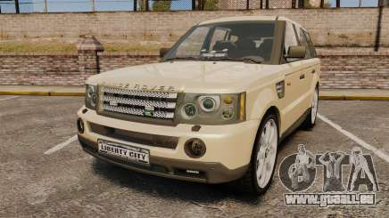 Range Rover Sport Unmarked Police [ELS] pour GTA 4