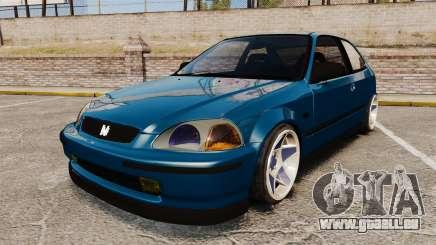 Honda Civic EK pour GTA 4