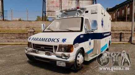 Ford E-350 Liberty Ambulance [ELS] für GTA 4