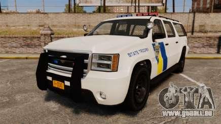 GTA V Declasse Police Ranger LCPD [ELS] pour GTA 4