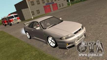 Nissan Skyline R33 GT-R für GTA San Andreas