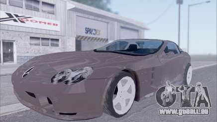 Mercedes-Benz SLR McLaren für GTA San Andreas
