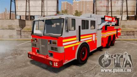 MTL Firetruck Tower Ladder [ELS-EPM] für GTA 4