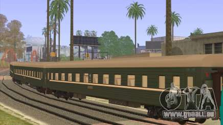 Reservierter Sitzplatz Waggon für GTA San Andreas