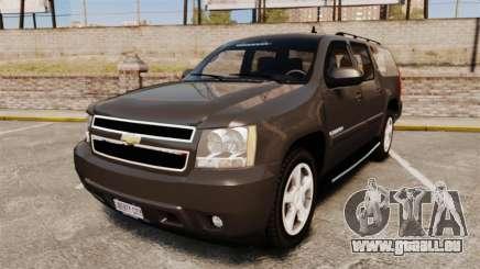 Chevrolet Suburban Slicktop 2008 [ELS] pour GTA 4