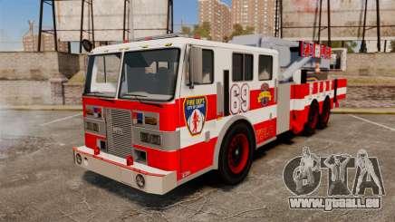 MTL Firetruck Tower Ladder FDLC [ELS-EPM] pour GTA 4