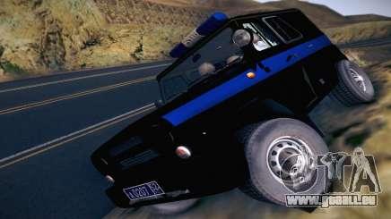 UAZ Hunter-Polizei für GTA San Andreas