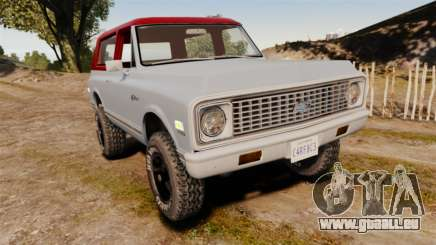 Chevrolet K5 Blazer pour GTA 4