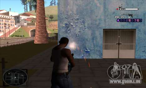 C-HUD Belenky pour GTA San Andreas troisième écran