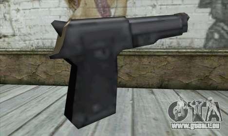 Beretta pour GTA San Andreas deuxième écran